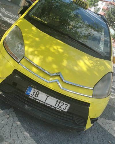talas emniyet taksi